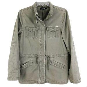 Max Jeans Army Green Jacket Casual Sz Medium